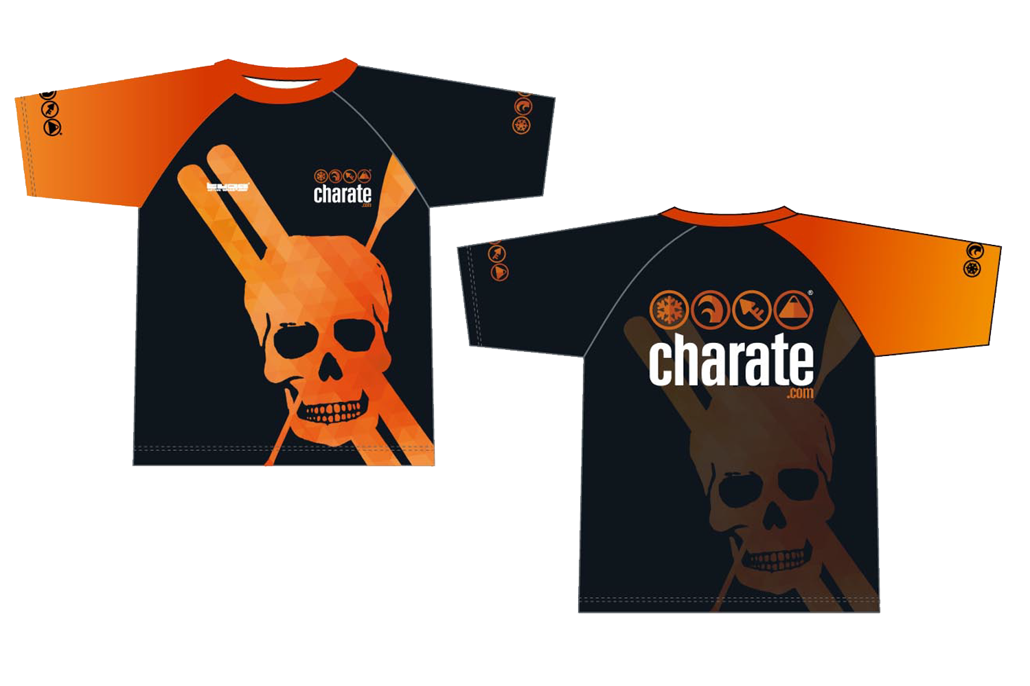 Camiseta Diseño TUGA ACTIVE WEAR Exclusiva Socios Club Charate 2017